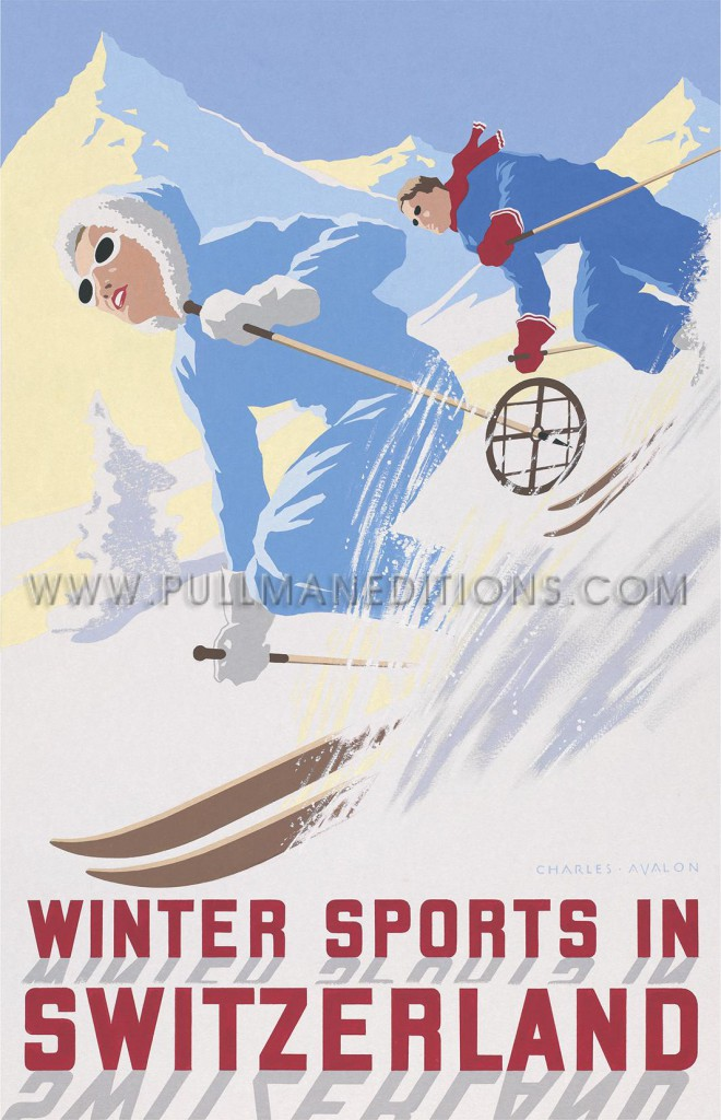 Switzerland: 'Winter Sports in Switzerland'