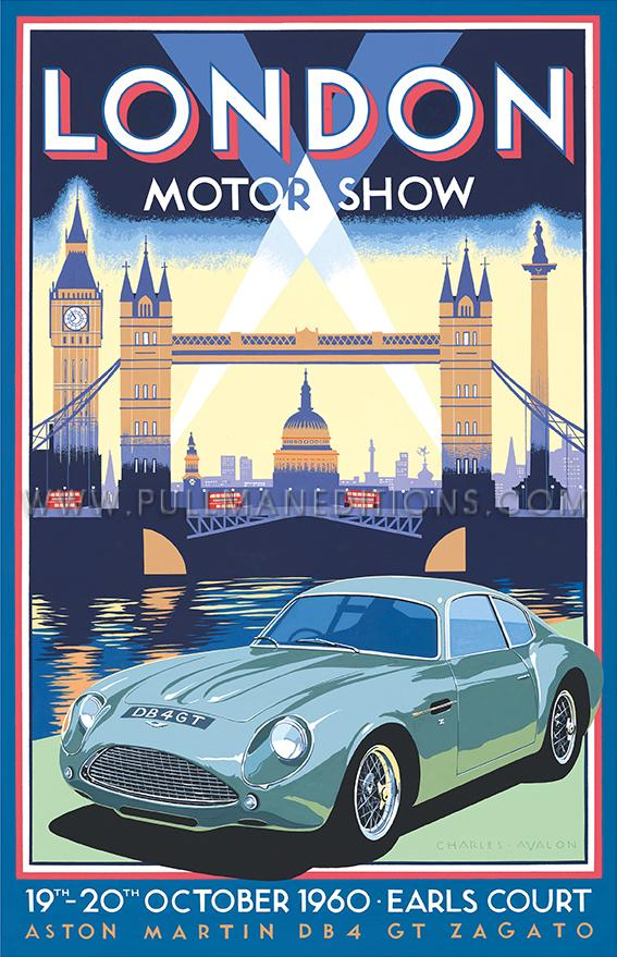 Aston Martin DB4GT Zagato – London Motor Show 1960