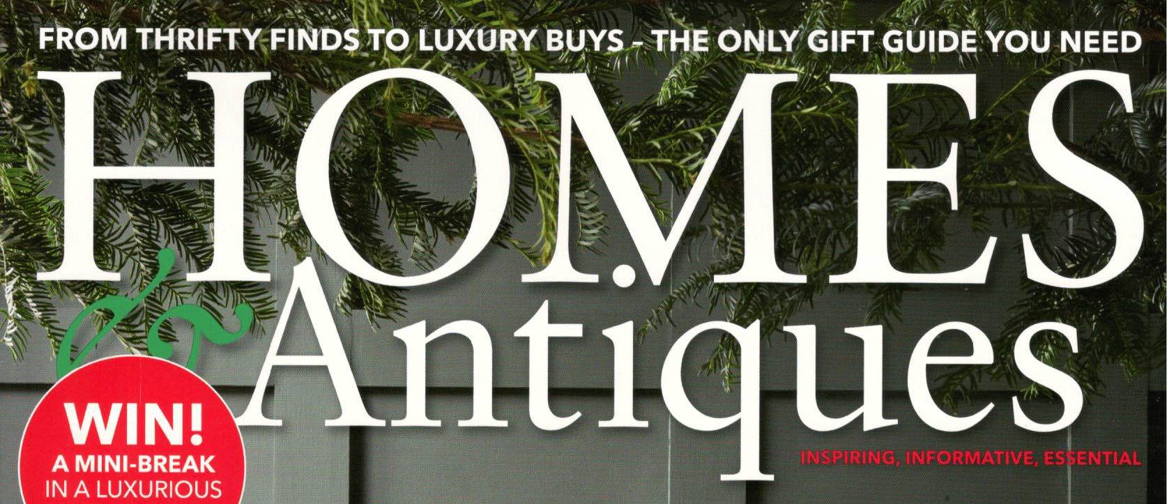 Homes & Antiques Magazine, December 2017