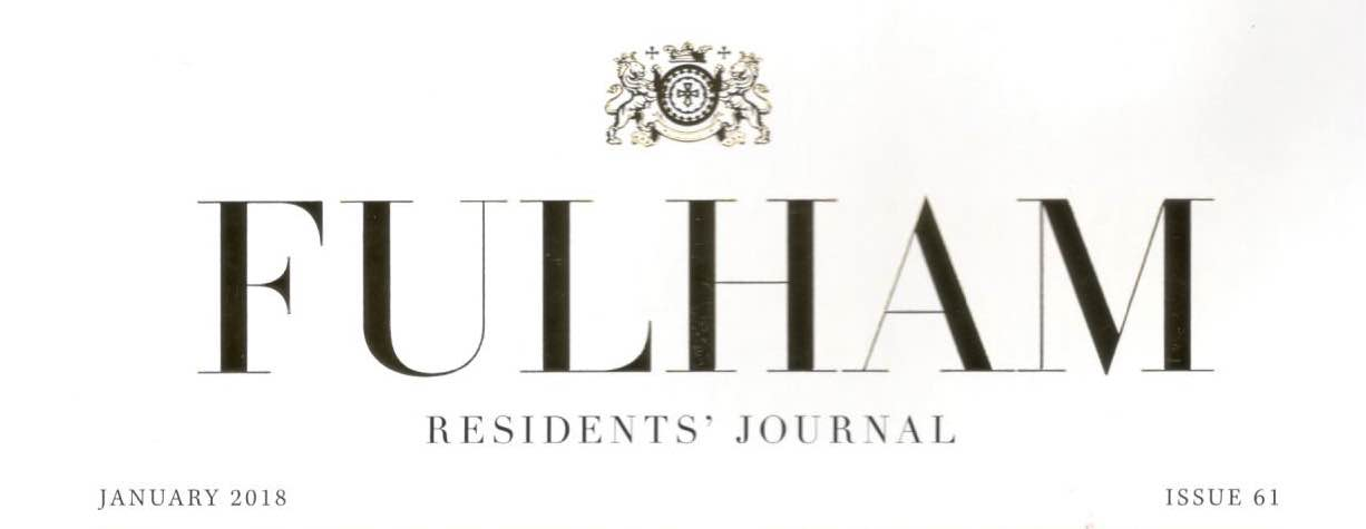 Fulham Residents' Journal, January 2018